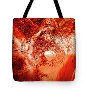 Wells Cathedral Gargoyles Color Negative H Tote Bag