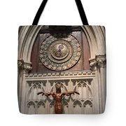 Wells Cathedral Geocentric Clock Tote Bag