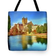 Wells Cathedral Tote Bag
