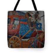 Wells Fargo Stagecoach Tote Bag