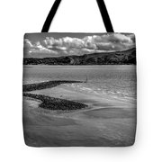 Welsh Coastal View From The Great Orme  Tote Bag