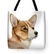Welsh Corgi Dog Painting Tote Bag