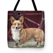 Welsh Pembroke Corgi Dog Outdoors Tote Bag