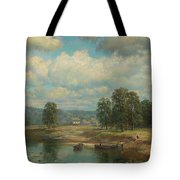 Weltz Ivan 1866-1926 By The River Tote Bag