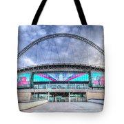 Wembley Stadium Wembley Way Tote Bag