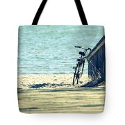 Went For A Swim Tote Bag