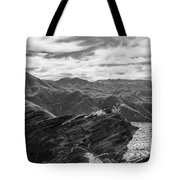 Were Andreas Meets Murray Bw 2 Tote Bag