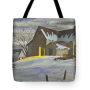 We're Home On The Farm Tote Bag