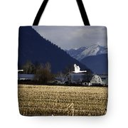 Were Outa Here Tote Bag