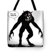 Werewolf Comic Illustration 1 Tote Bag