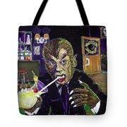 Werewolf Drinking A Pina Colada At Trader Vic's Tote Bag