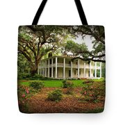 Wesley House Tote Bag by Sandy Keeton