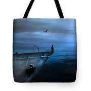 West Across The Ocean Tote Bag