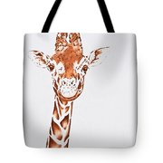 West African Giraffe Tote Bag