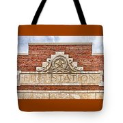West Bottoms Fire Station Terracotta Dwc Tote Bag