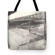 West Bromwich Albion - The Hawthorns - Brummie Road End 1 - Bw - 1960s Tote Bag