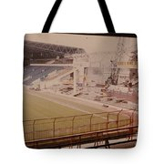 West Bromwich Albion - The Hawthorns - Halfords Lane West Stand 2 - Construction - 1980 Tote Bag