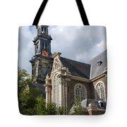 West Church Westerkerk Tote Bag