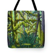 West Coast Landscape Painting Tote Bag
