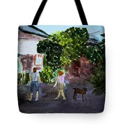 West End Shopping Tote Bag