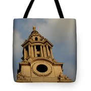 West Front Of St. Paul's Cathedral, London Tote Bag