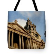 West Front Of St.paul's Cathedral, London Tote Bag