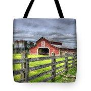 West Georgia Barn Tote Bag