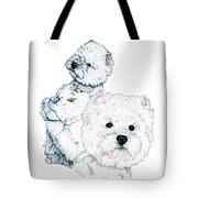 West Highland White Terriers Tote Bag