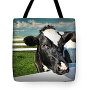 West Michigan Dairy Cow Tote Bag