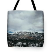 West Needle Mountain Tote Bag