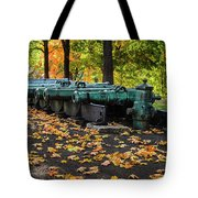 West Point Fall Leaves Tote Bag