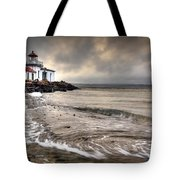 West Point Light House Tote Bag