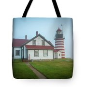 West Quoddy Head Light 2 Tote Bag