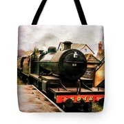 West Somerset Railways Train. Tote Bag