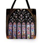 West Stained Glass Window Christ Church Cathedral 1 Tote Bag