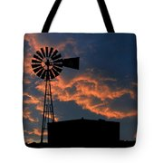 West Texas Cattle Tank Tote Bag