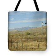 West Texas Ranch Scene II Tote Bag