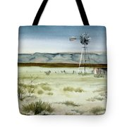 West Texas Windmill Tote Bag