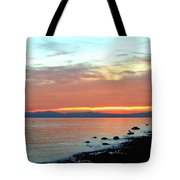 West Vancouver Sunset Tote Bag