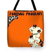 West Virginia 1925 Football Program Tote Bag