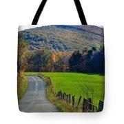 West Virginia Autum On Sandy Ridge Tote Bag