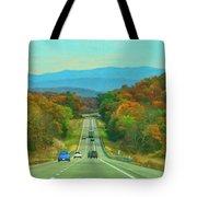 West Virginia Bound Tote Bag by Ola Allen