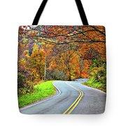 West Virginia Curves Tote Bag