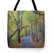 West Virginia Fall Scene Tote Bag