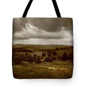 West Virginia Overcast Tote Bag