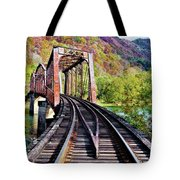 West Virginia Trestle Tote Bag