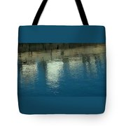 West Wharf Reflections I Tote Bag