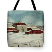 West Winfield Farm Tote Bag