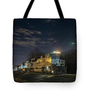 Westbound Norfolk Southern 375 At Georgetown In Tote Bag