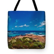 Western Australia Beach Panorama Tote Bag